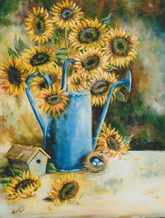 Sunflower Sensation - Ann Ford Fine Art