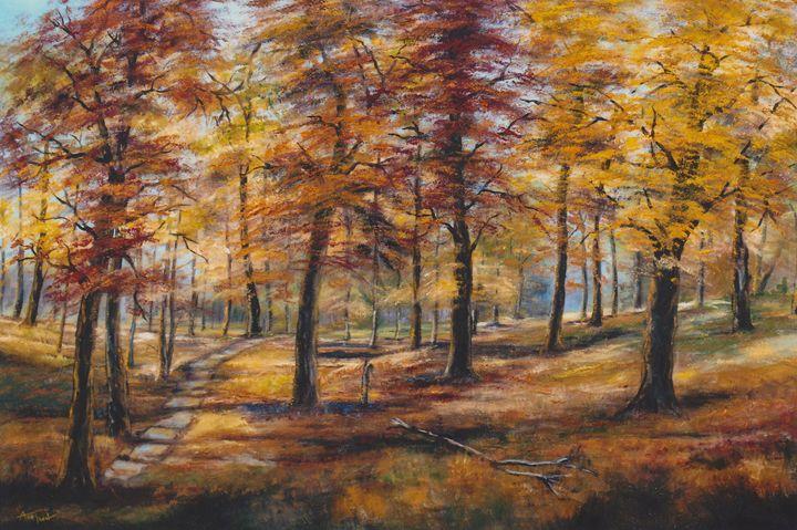 October Radiance - Ann Ford Fine Art