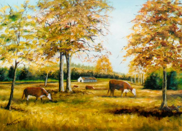 One Fine Day - Ann Ford Fine Art