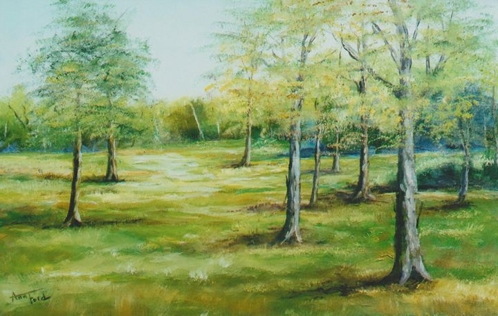 Tullahoma Trees - Ann Ford Fine Art