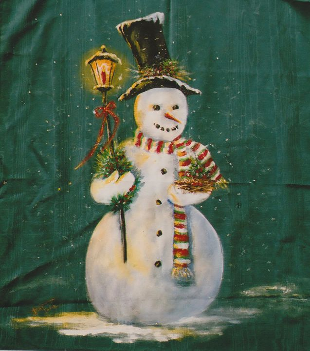 Let It Snow - Ann Ford Fine Art