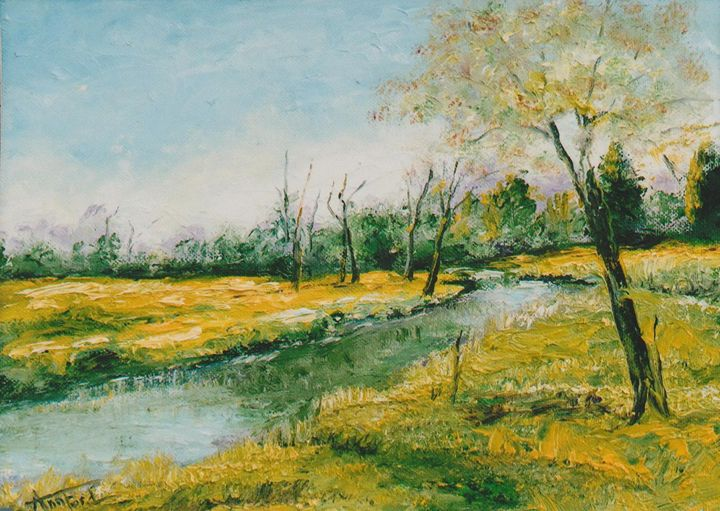 Spring Emerging - Ann Ford Fine Art
