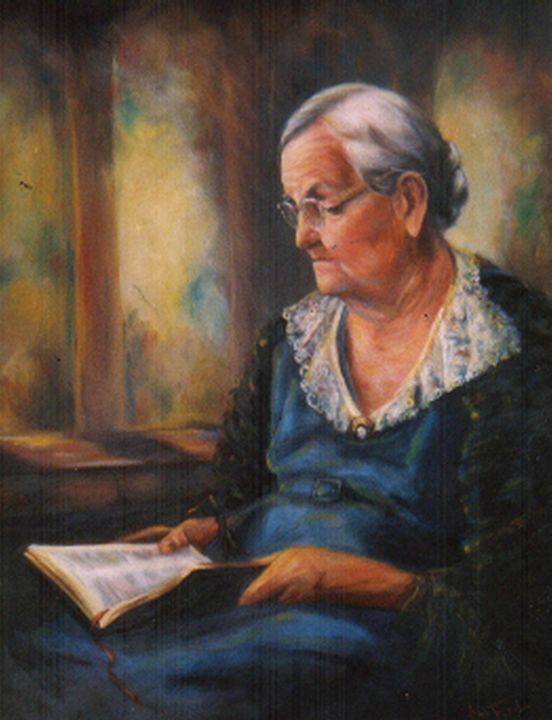 The Scriptures - Ann Ford Fine Art