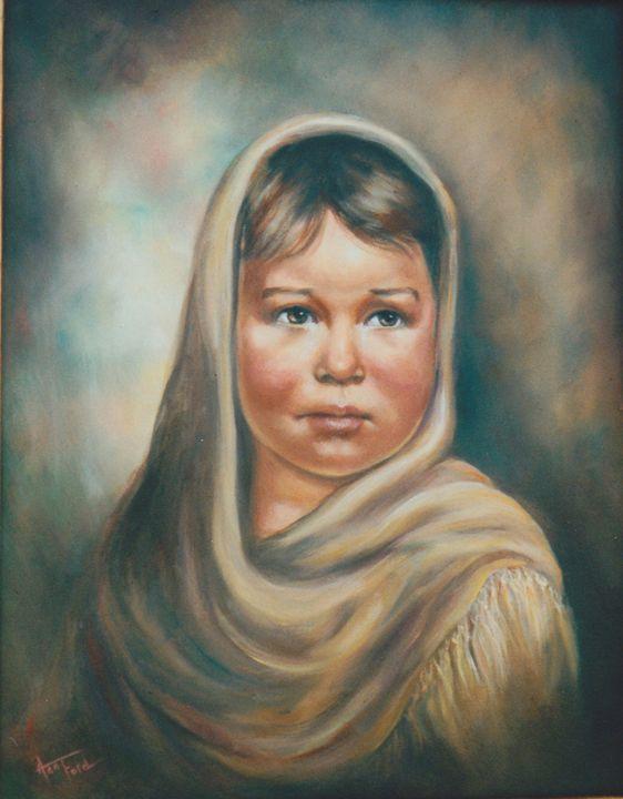 Little Refugee - Ann Ford Fine Art