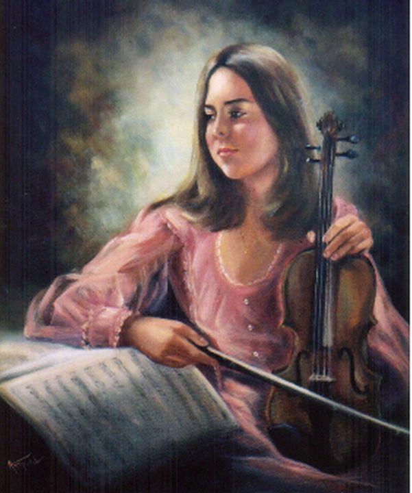 Music Mood - Ann Ford Fine Art