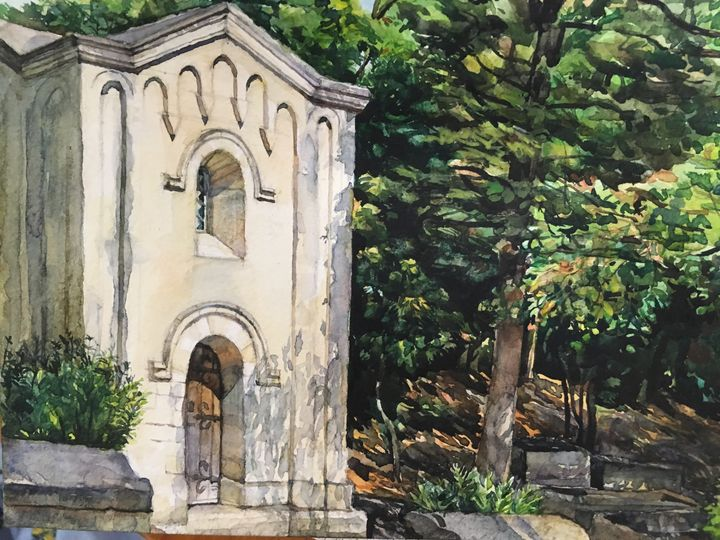 Mausoleum Of Alyscamps - Adele  Spatay
