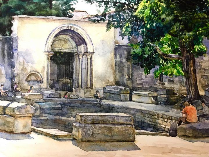 Roman gate - Adele  Spatay