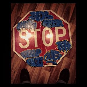 Throwys on a Stop sign
