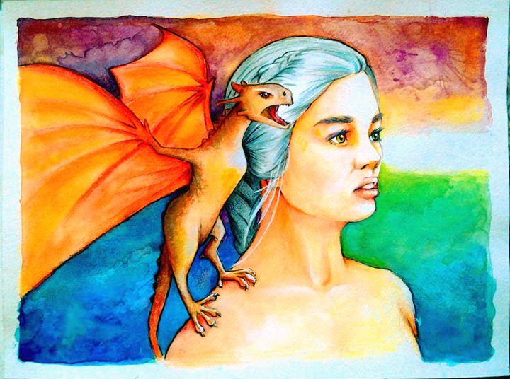 The Mother of Dragons (Daenerys) - Samart
