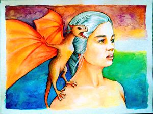 The Mother of Dragons (Daenerys)