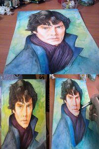 Sherlock BBC- Benedict Cumberbatch