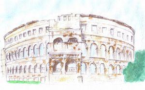 Arena Pula Croatia Roman