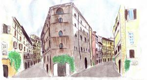 Rome Via del Pallegrino