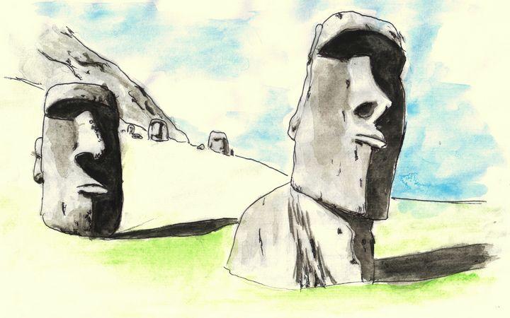 Easter Island - marta's corner