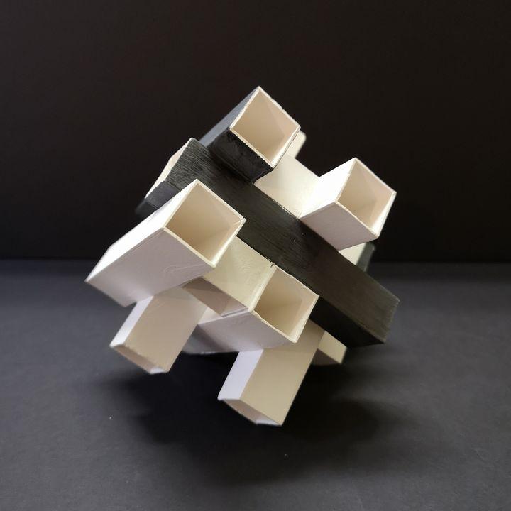 Porcelain sculpture P9.6 - Lisanne Lammers