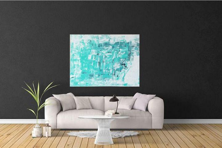 Abstract modern painting - NVGArtstudio