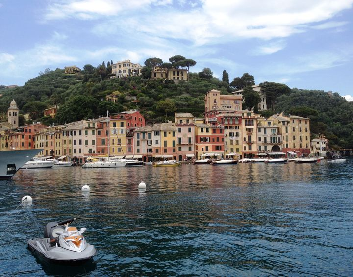 Italy Portofino Harbor - Rebecca K. Williams