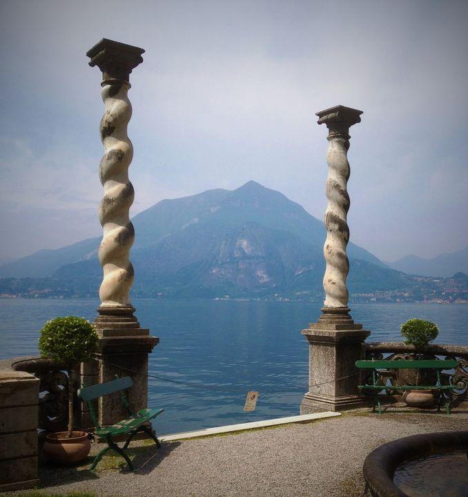 Dock at Villa Monastero - Rebecca K. Williams