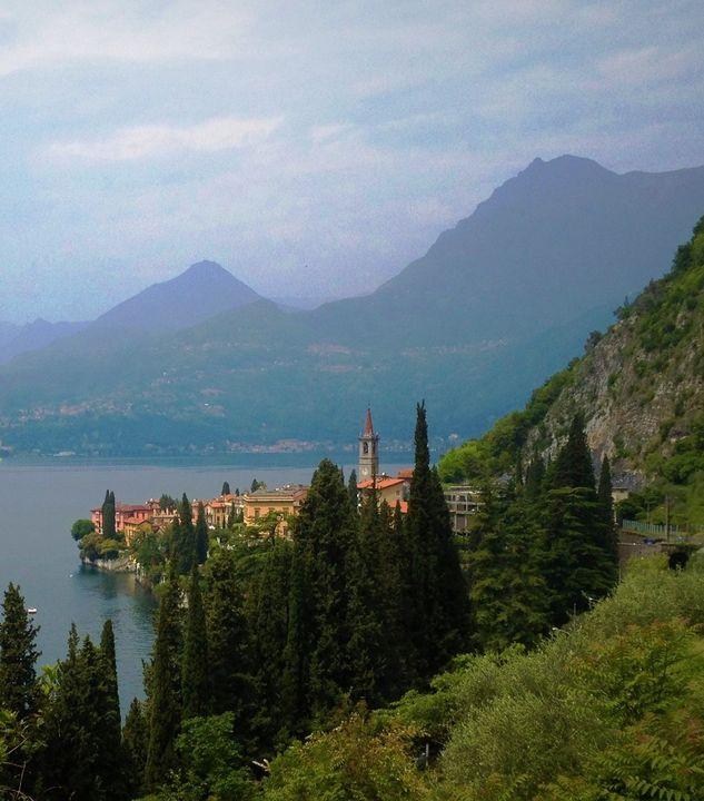View of Varenna on Lake Como - Rebecca K. Williams