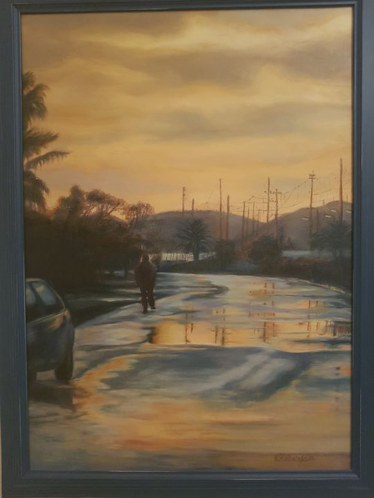 street after the rain - My gallery