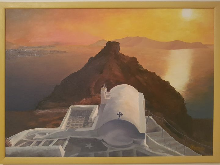 Greek island sunset - My gallery