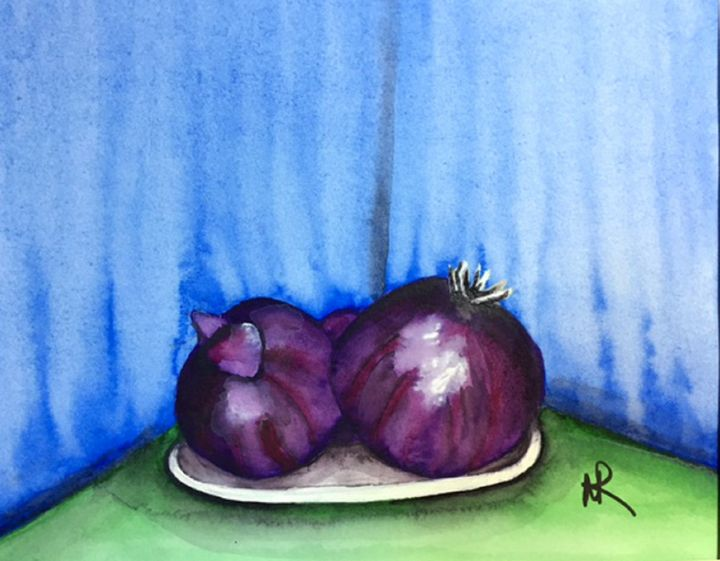 Onions - Nancy Riedell Fine Arts