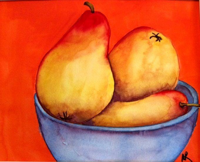 Pears - Nancy Riedell Fine Arts