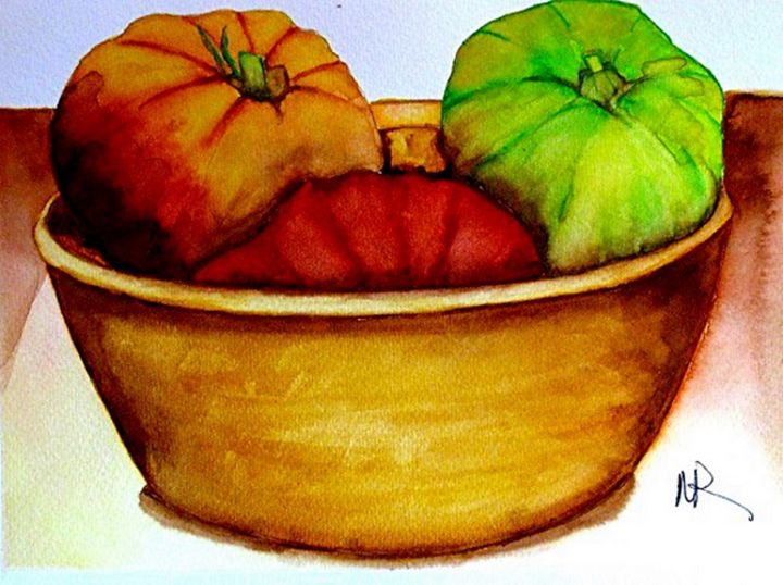 Tomatoes - Nancy Riedell Fine Arts