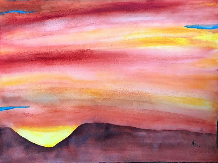 Santa Cruz Mountains Sunrise - Nancy Riedell Fine Arts