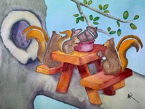 A Squirrel Hollow Picnic