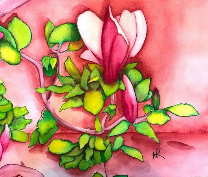 Tulip Magnolia - Nancy Riedell Fine Arts