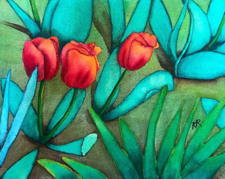 Tulips in Pennsylvania - Nancy Riedell Fine Arts