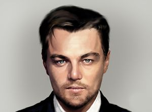 Digital drawing of Leonardo di Capri