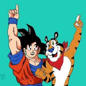Dragon ball Z × Forsted Flakes
