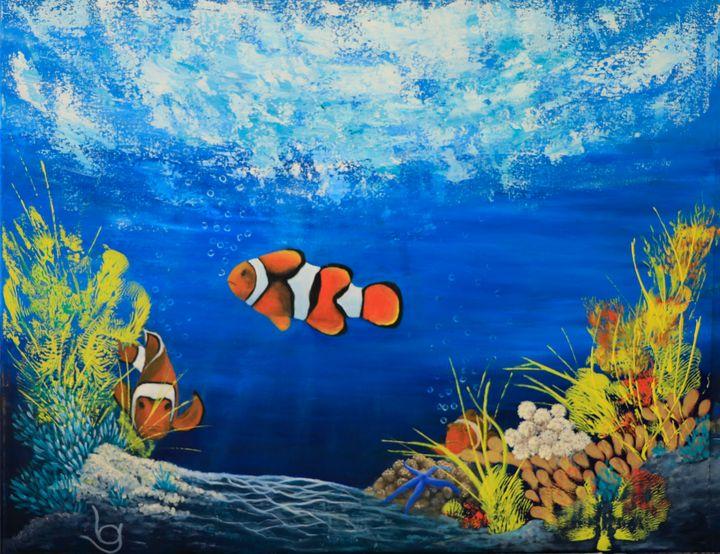 Coral Reef - Lynne G Fine Art