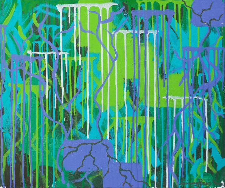 """Abundant 20""""x24"""" - Art by Ginny Rossin"""