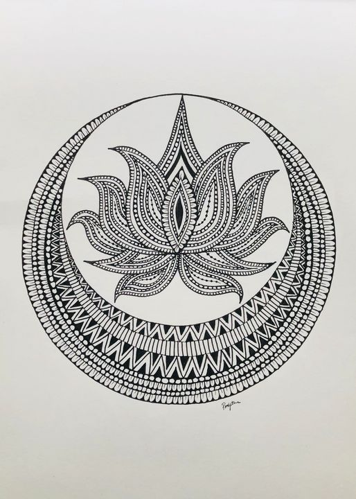 Mandala art work - Drawing freak forever