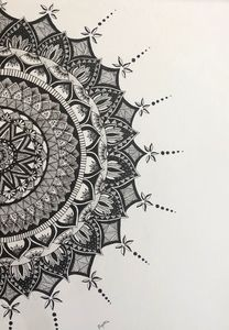 Mandala art work