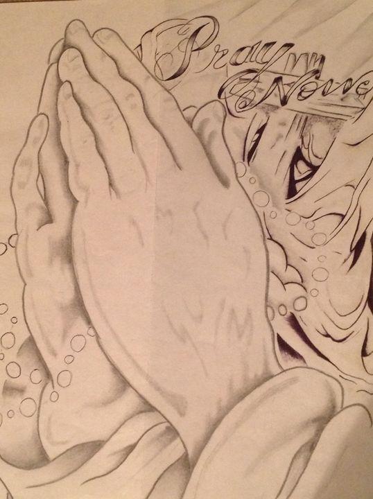 Pray now - David's Doodles