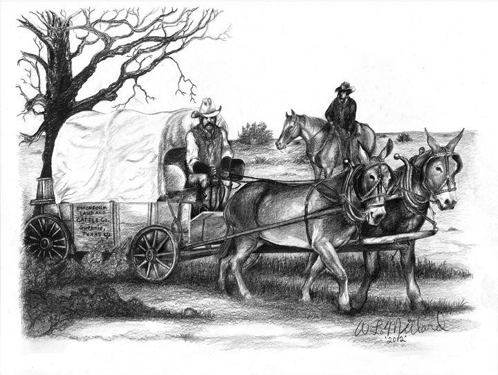 Chuck Wagon - Millard Saddle Repair & Art