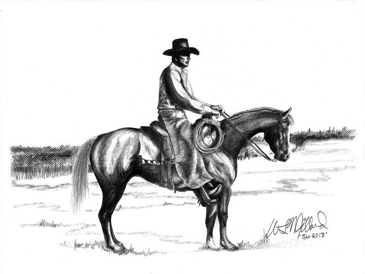 The Cowboy - Millard Saddle Repair & Art