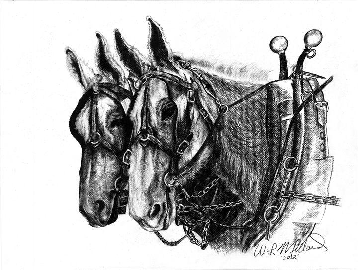 Mule Yeam - Millard Saddle Repair & Art