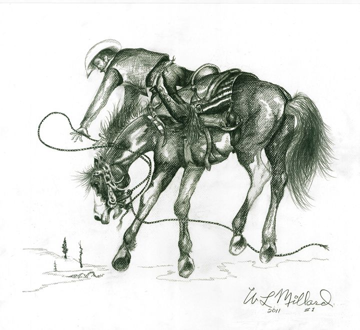 Paint Colt - Millard Saddle Repair & Art