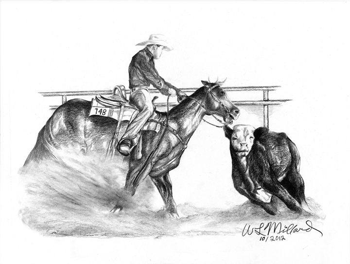 Working Cowhorse - Millard Saddle Repair & Art