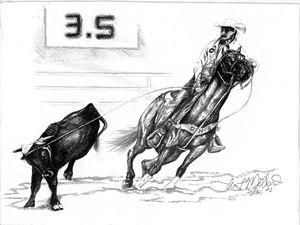 Old Time Rodeo Hand - Millard Saddle Repair & Art