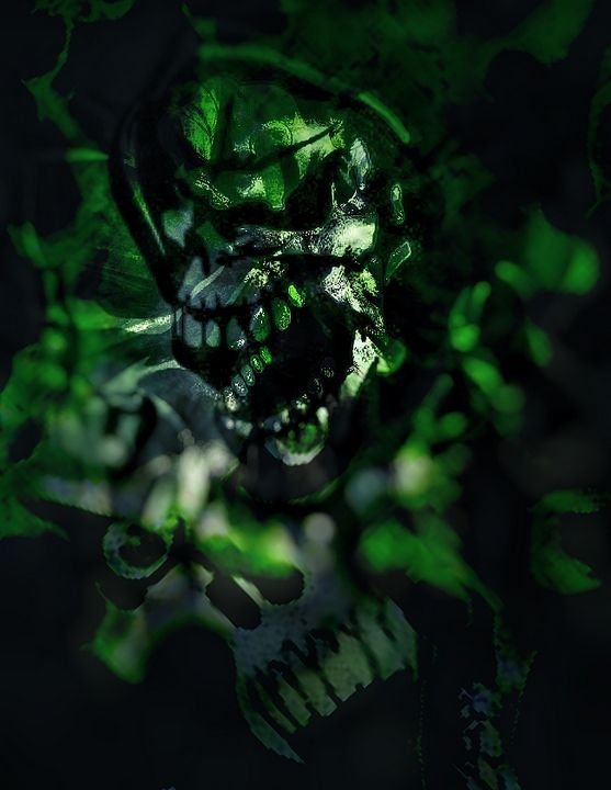 Green Reaper - RT photography and digital art