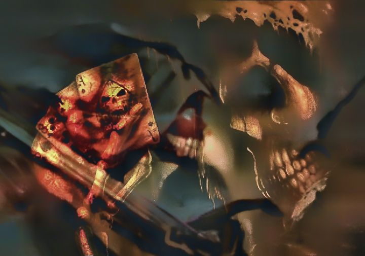 dont fear the reaper - RT photography and digital art