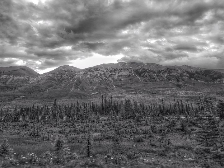 The back end of Alberta Canada - RT photography and digital art
