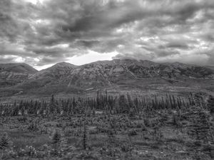 The back end of Alberta Canada
