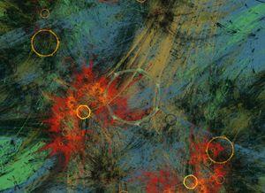 Red Sparks Fractal